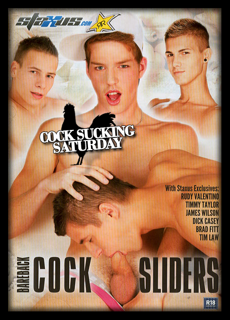 Cock Sucking Saturday - Bareback Cock Sliders
