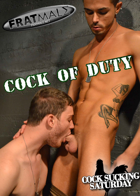 Cock Sucking Saturday - Cock Of Duty