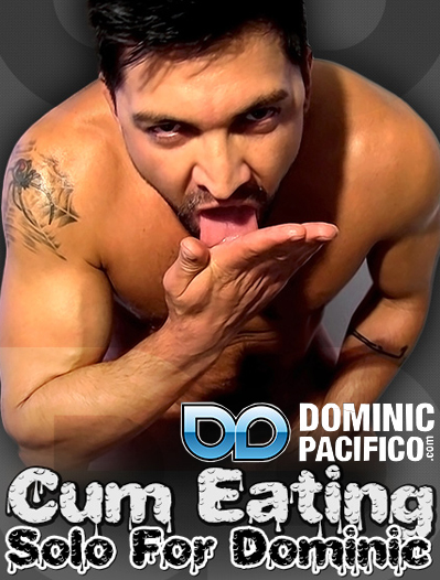 Cum Eating Solo For Dominic