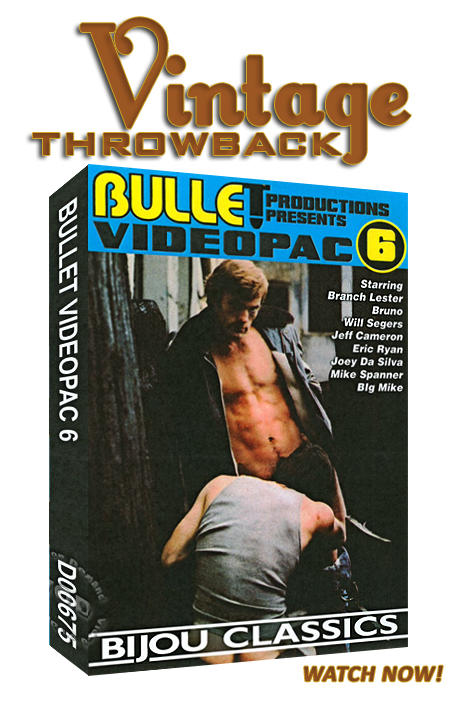 Vintage Throwback - Bullet Videopac 6