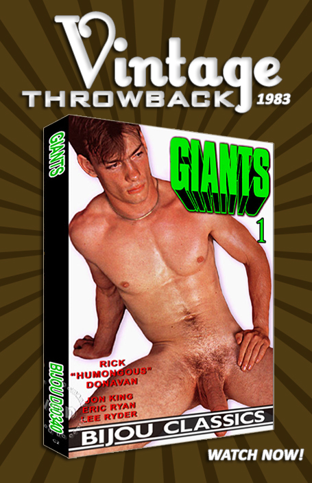 Vintage Throwback - Giants