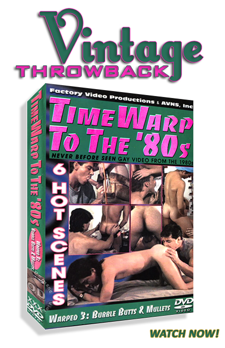 Vintage Throwback - Time Warp To The '80s - Warped 3: Bubble Butts & Mullets