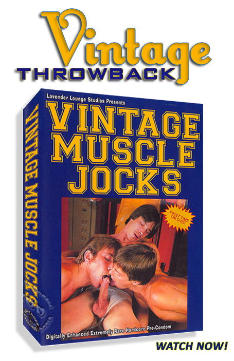 Vintage Throwback - Vintage Muscle Jocks