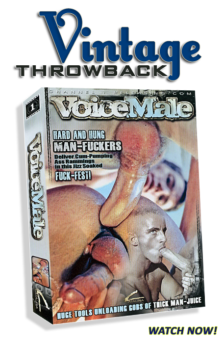 Vintage Throwback - Voice Male
